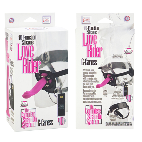 10-Function Silicone Love Rider G-Caress