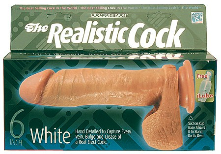 6 inch realistic cock