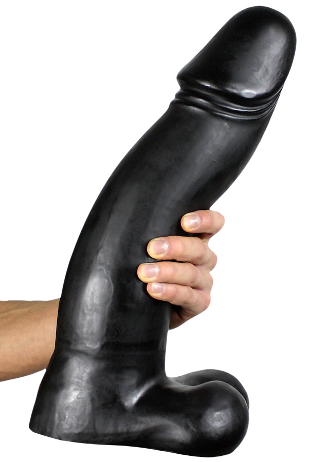 All Black Dildo 45 cm