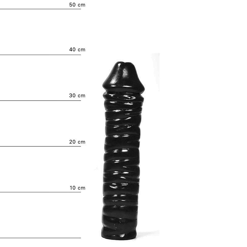 All Black Dildo AB51