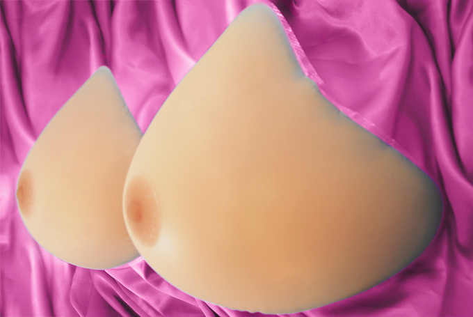 AMOLUX Diamond Attachable Breast Forms