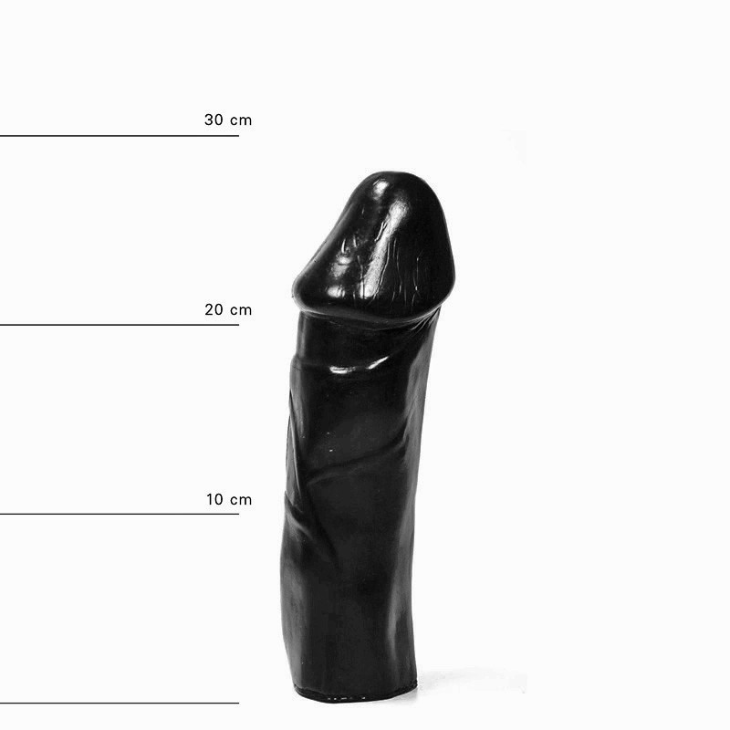 All Black Dildo AB49