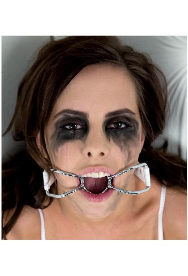 Asylum Patient Mouth Restraint With Metal Bit