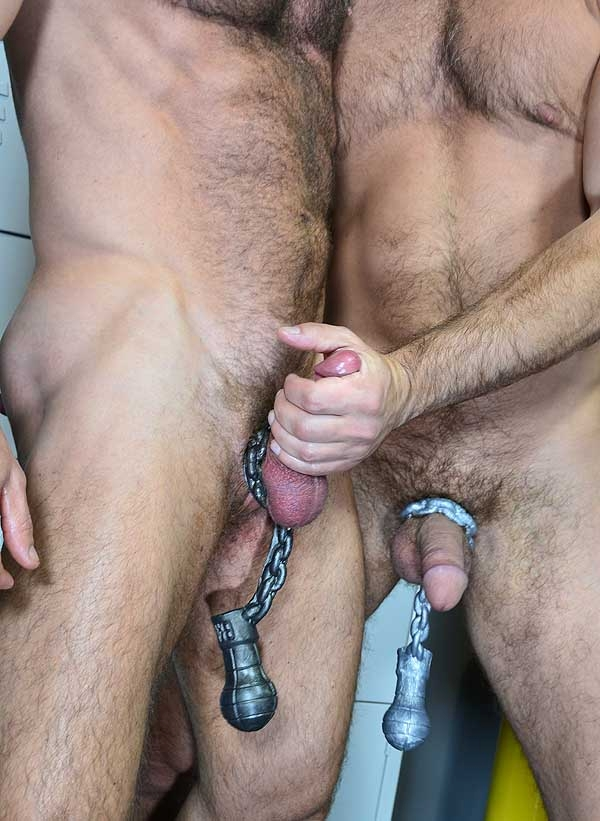 BALL & CHAIN ass-lock by Oxballs