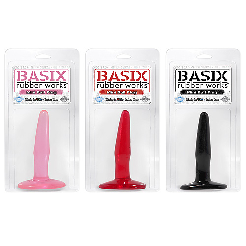 BASIX Mini Butt Plug