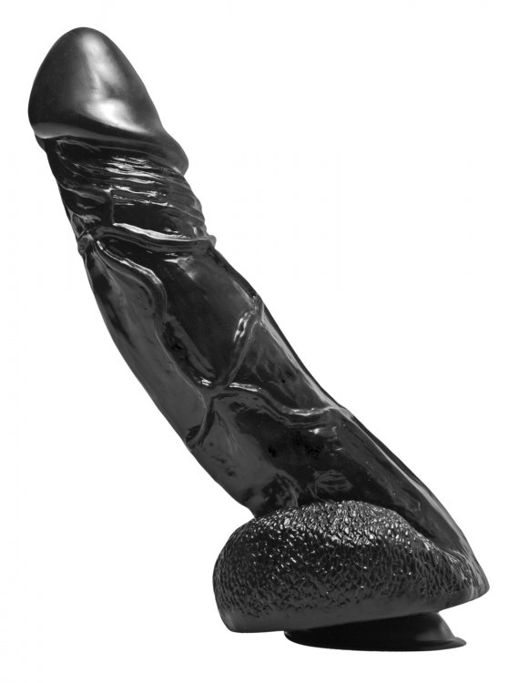 Big Black Bob 11 Inch Suction Cup Dildo