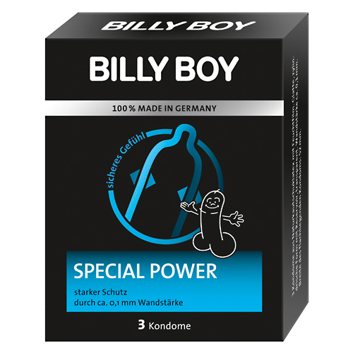 Billy Boy Special Power 3 pcs