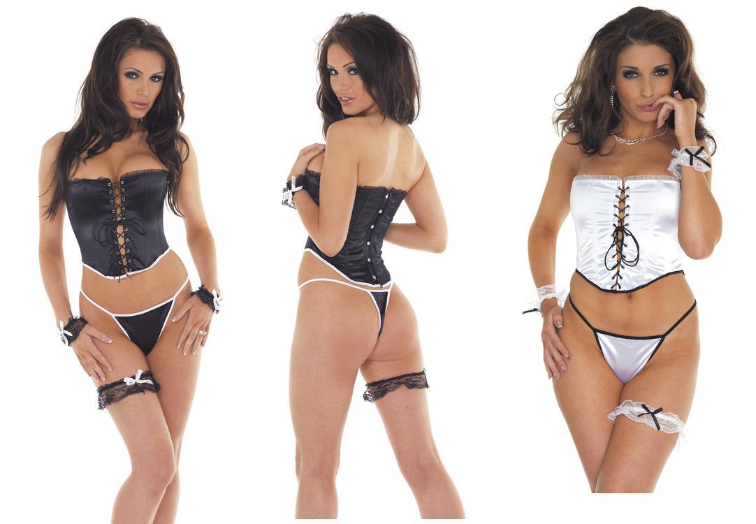 Bustier, G-String & Accessories