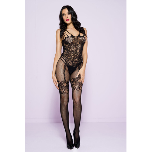 Catsuit with Garter Set Design