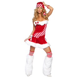 3 Pcs Christmas Dress - Candy Cane