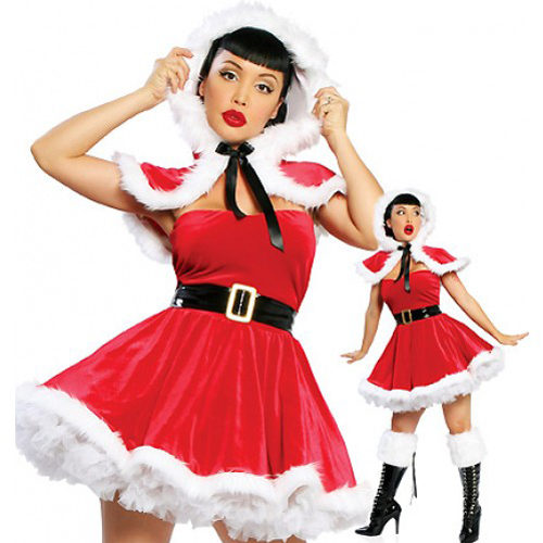 4 Piece Christmas Dress - North Pole
