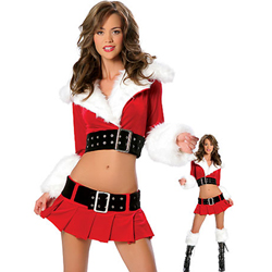 4 Piece Christmas Dress - Pleasure