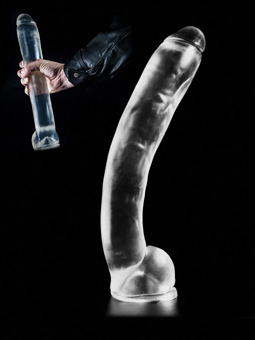 Clear Large Dildo DCC09