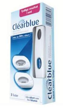 Clearblue Digital Pregnancy Test - 3 Tests