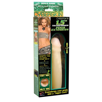 Cyberskin Extension Sheath 1.5 inch