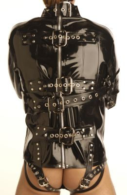 Deluxe Rubber Straight Jacket