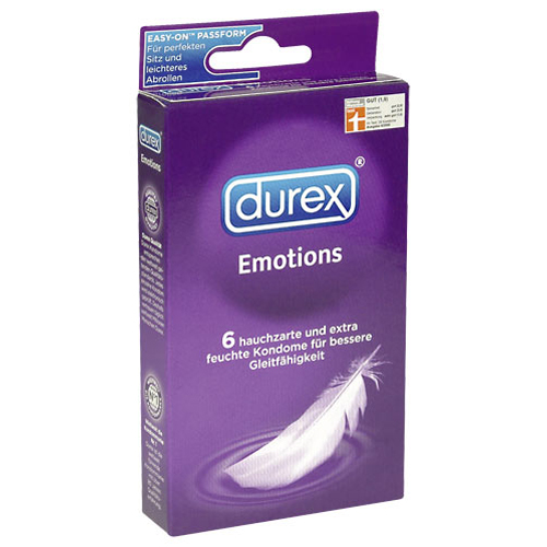 Durex Emotions 6pcs