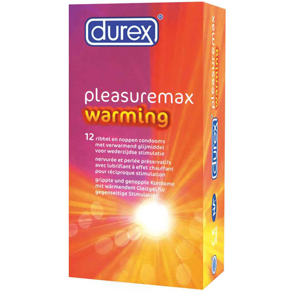 Durex Pleasuremax Warming Condoms
