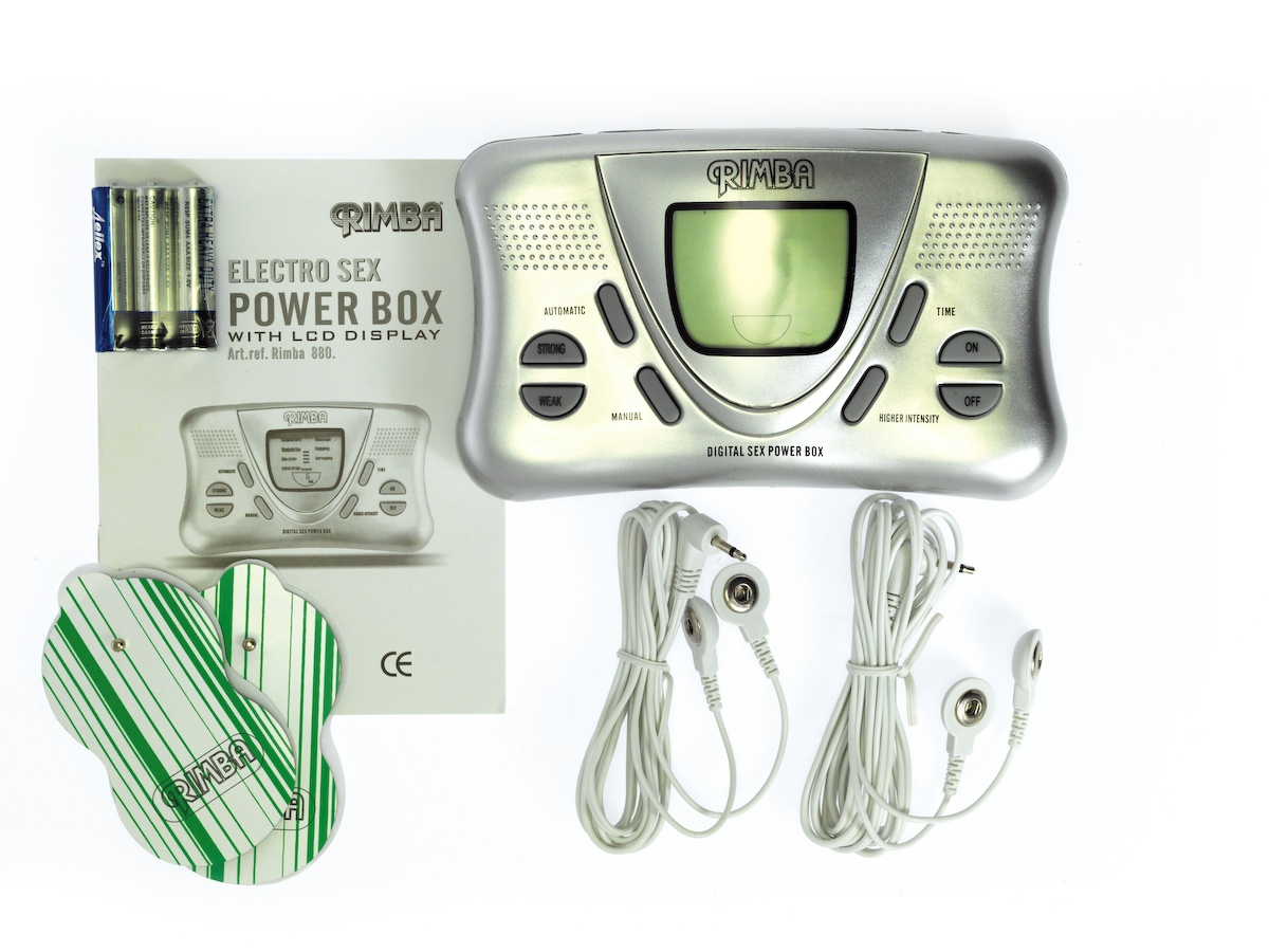 Electro powerbox set with LCD display
