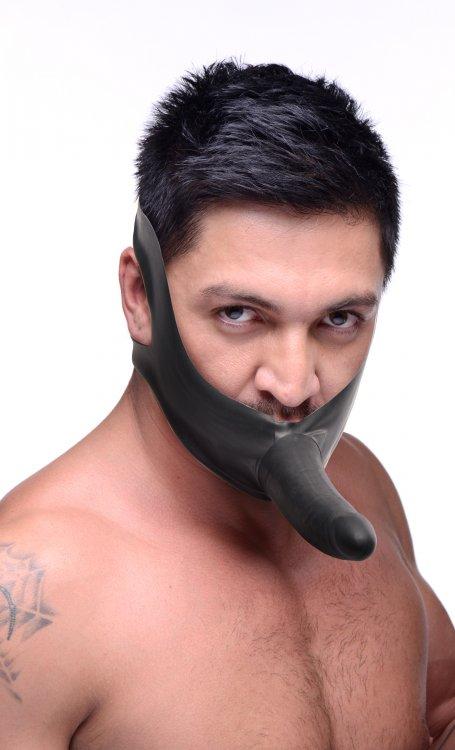 фалоимитатор на носу у мужика фото