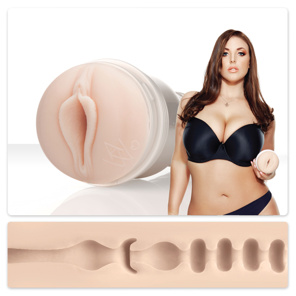 Fleshlight Girl Angela White Vagina Lotus Texture