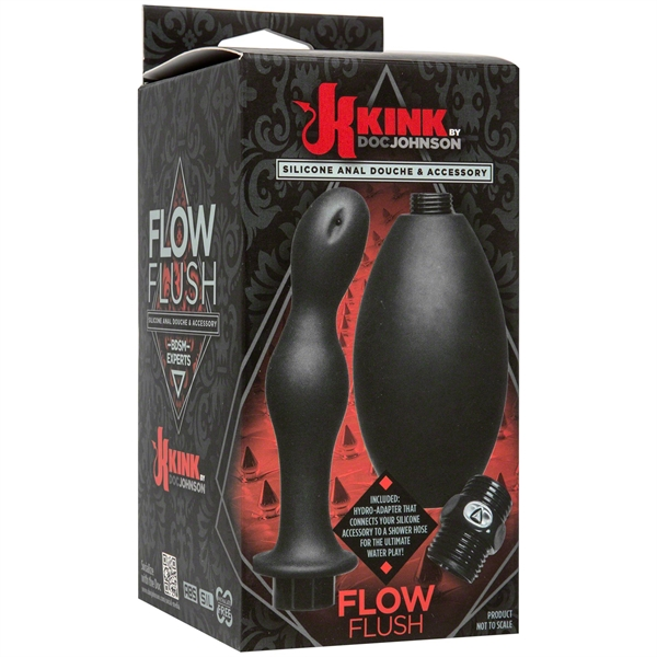 Flow Flush Silicone Anal Douche & Accessory