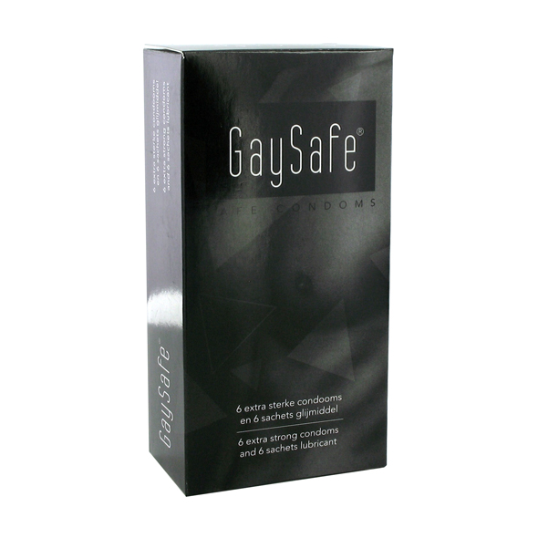 Gaysafe Condoms 6 pcs
