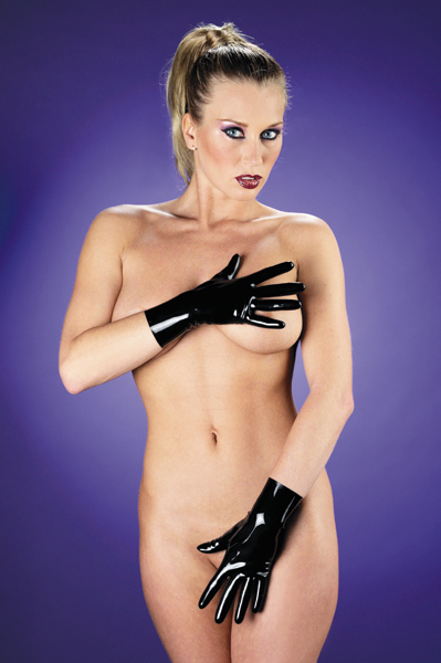 Latex Gloves Short