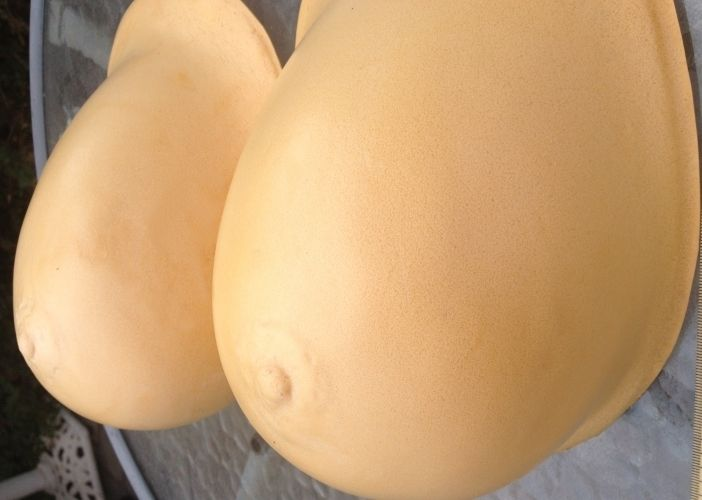 Huge Foam Breast Forms