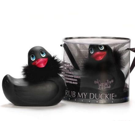 I Rub My Duckie Paris Black
