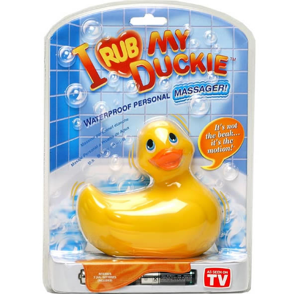I Rub My Duckie Yellow