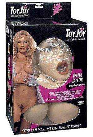 Ivana Taylor Vibrating Love Doll