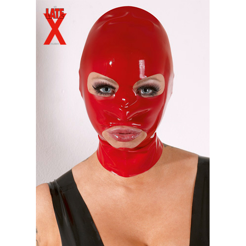 Latex Mask - Red