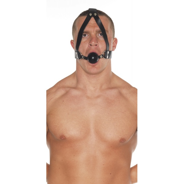 GAG WITH SILICON BALL & HEADSTRAP