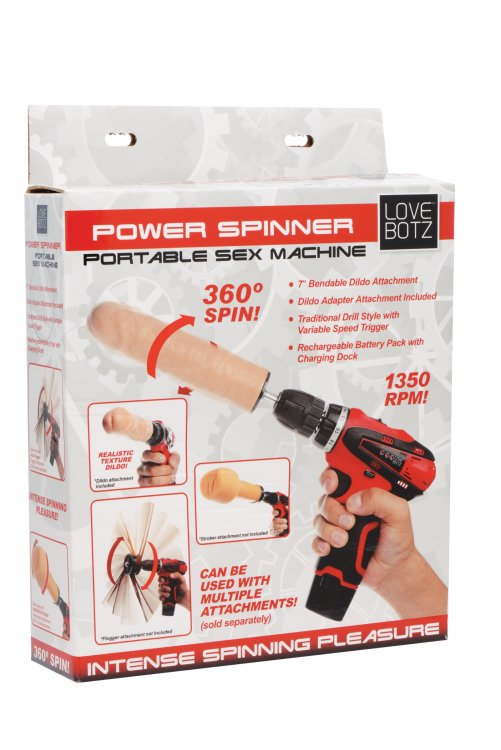 Power Spinner Portable Sex Machine