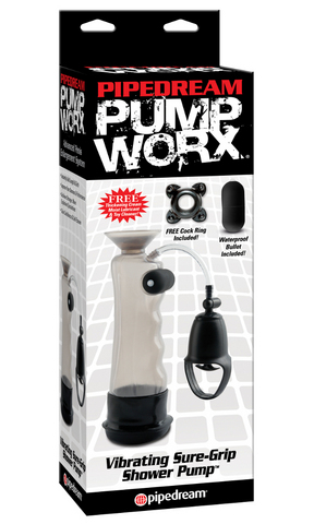 Pump Worx Vibrating Sure-Grip Shower Pump