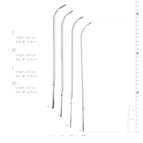 4 pcs large Dilator set