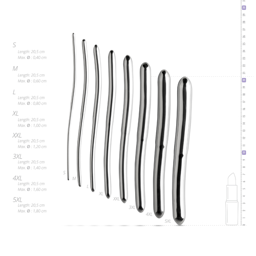 8-pcs Dilator Set with pouch