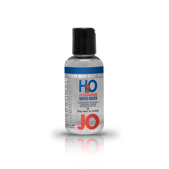 JO H2O Water Based Warming Lubricant
