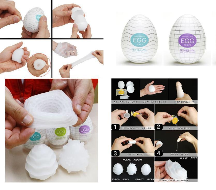 Tenga Egg (6 Pieces)