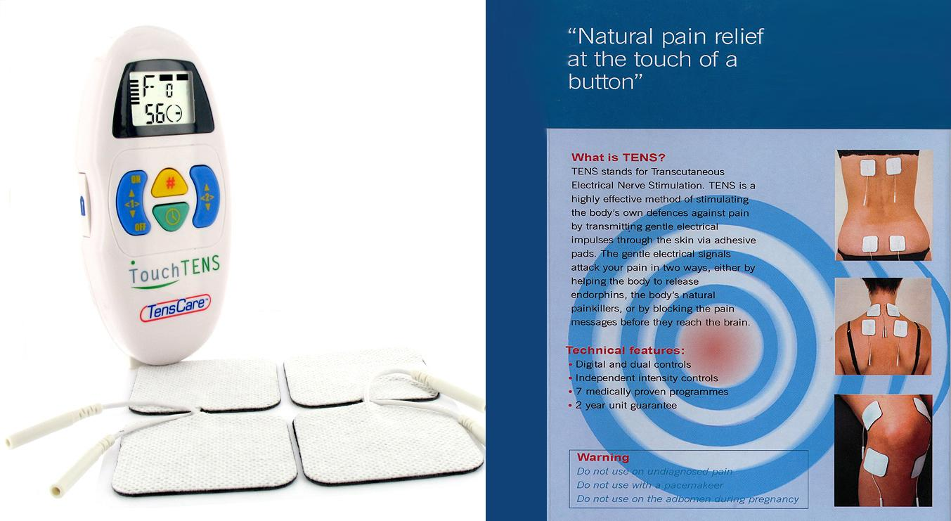 Touch TENS Pain Relief