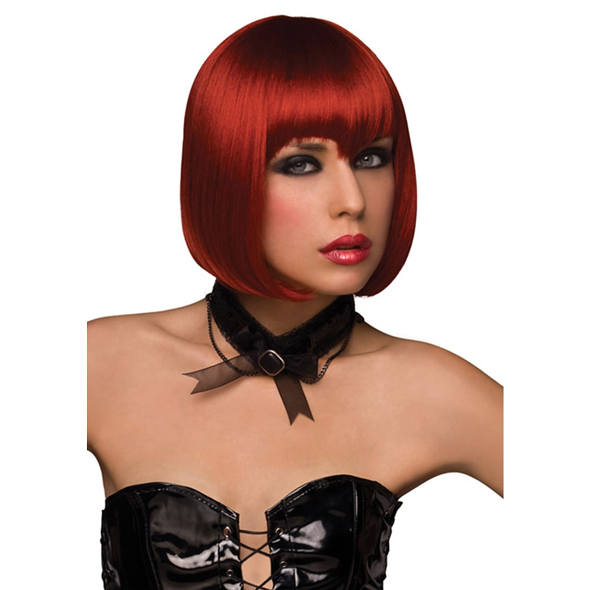 VAMP WIG - BURNT RED