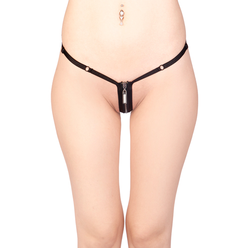 Vixson G-string with Zipper