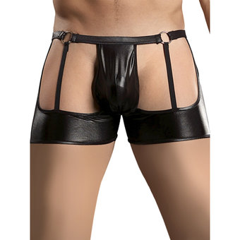 WetLook Garter Shorts