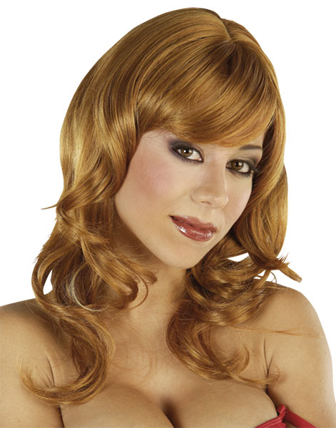 Wig Copper Red Long