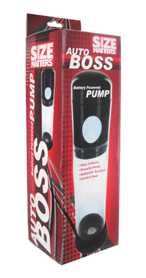 Size Matters Auto Boss Battery Powered Pump