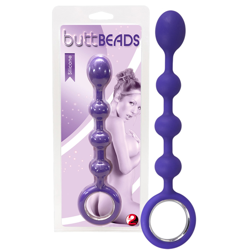 Butt Beads purple