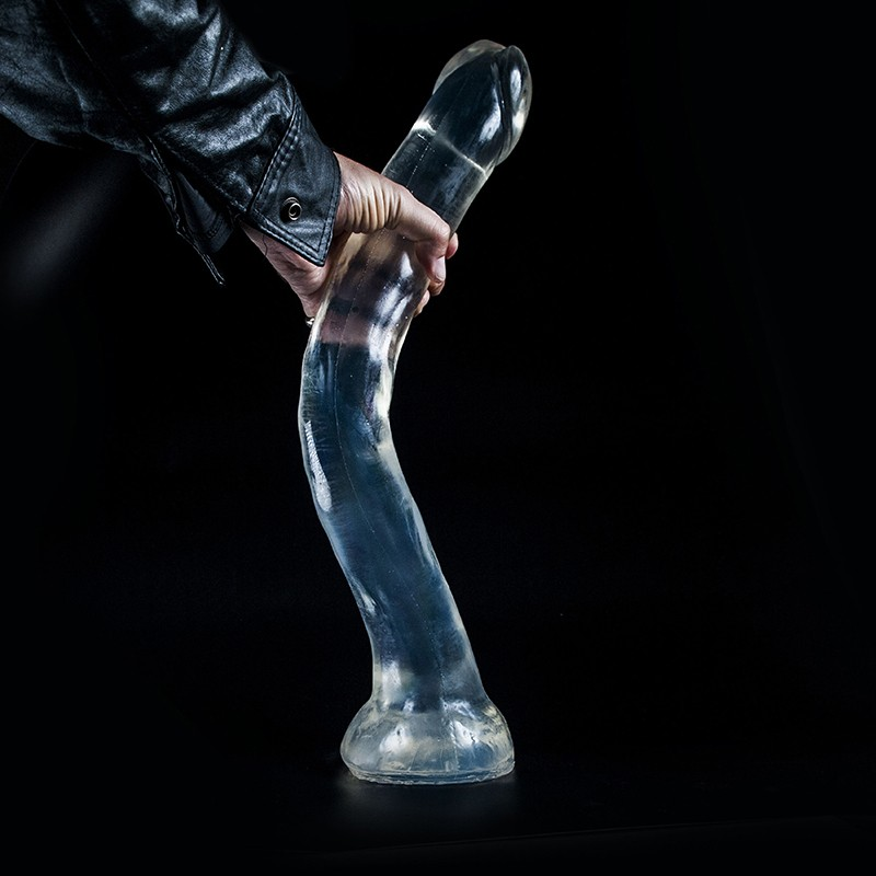Clear X-Large Dildo DCC36