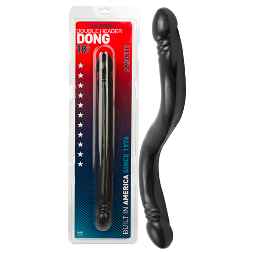 Double Dildo black XL