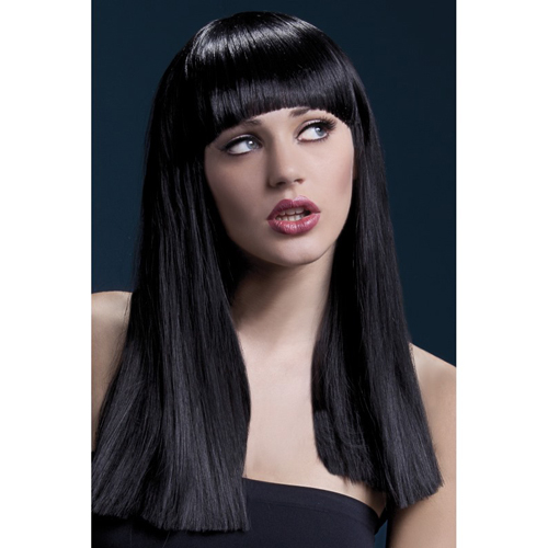 Alexia Wig 48cm Long Blunt Cut with Fringe